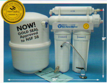 Reverse Osmosis Filter - Pure water machine 35 GPD