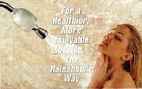 Rainshow'r Filtered Dechlorinating Shower - Model CQ-1000