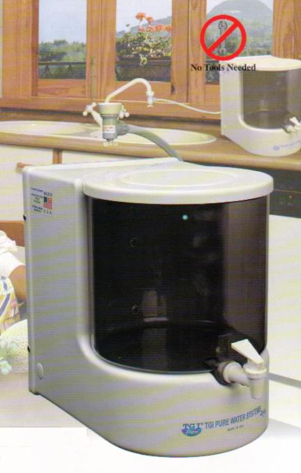 Counter Top Reverse Osmosis Water Filters