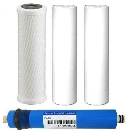 Reverse Osmosis Replacement Filter Package And Membrane