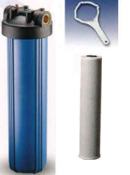 Canister Water Filters for the WHole House - Carbon Block and Sediment Filter