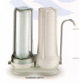 Counter Top Single and Multi Stage water filter